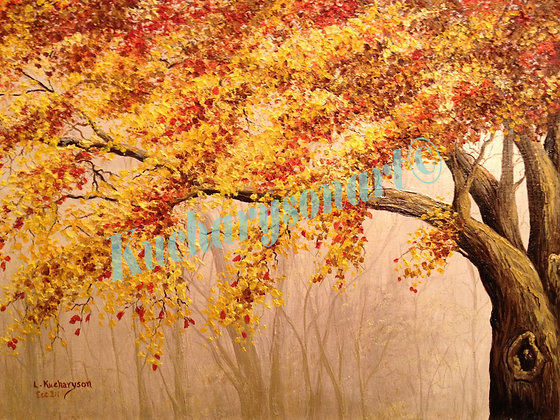 "Fall, Winter, Spring or Summer 8"" X 10"" print-"