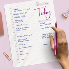 30Min Daily Planner