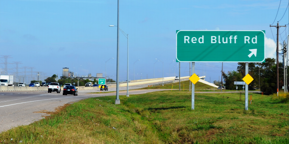 TXDOT Red Bluff Improvements