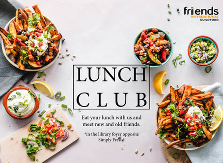Lunch Club is on!