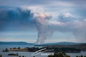 Coup burn near Dover, Tasmania
