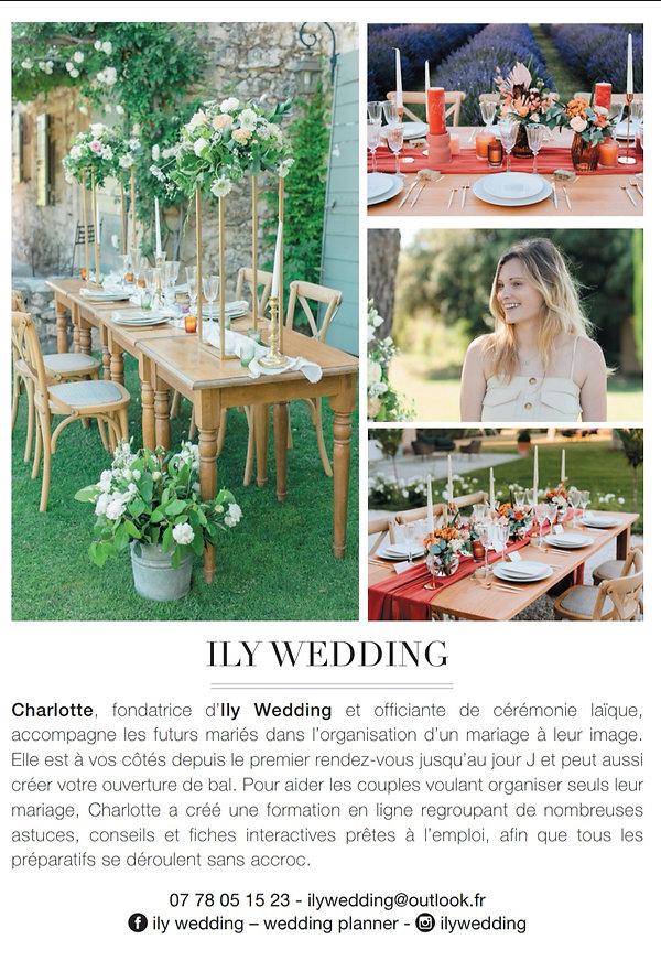 ily wedding publication ELLE Magazine.jp