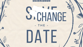 "Faites de votre "" Save The Date"" un ""Change The Date""."