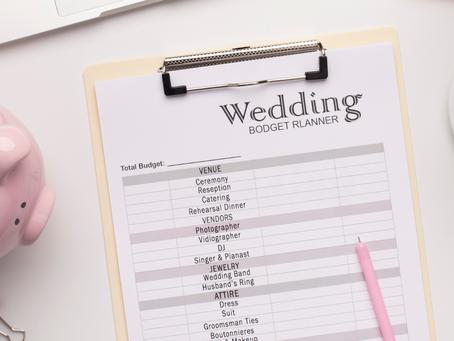 Comment gérer mon budget mariage ?