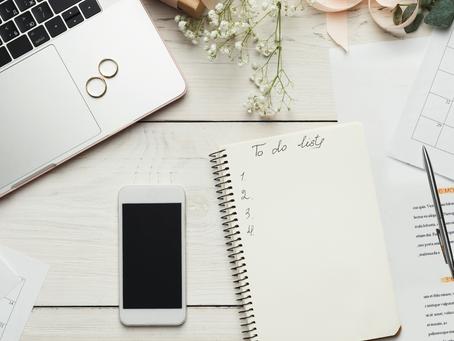 Les 4 points clé à définir avant de commencer à organiser votre mariage.