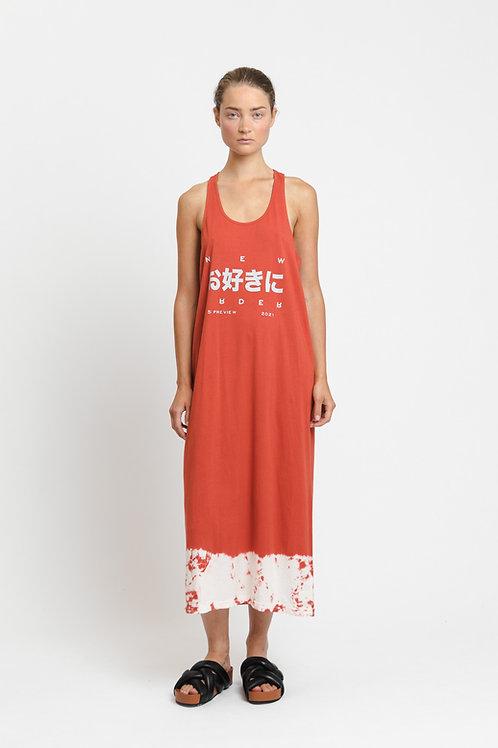 EVELYN / TIE DRESS