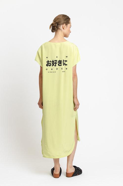 Michaela Shiny Dress