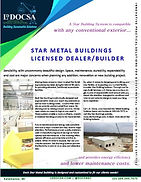 Star Metal Buildings by L.D. Docsa