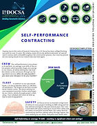 Self-Performance Contracting