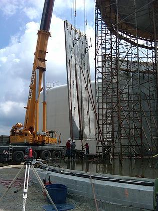 Water Storage Construction
