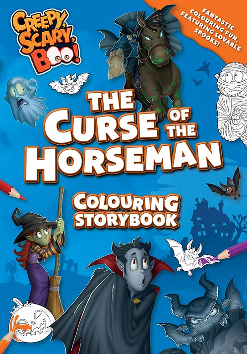 The Curse of the Horseman Colouring Storybook