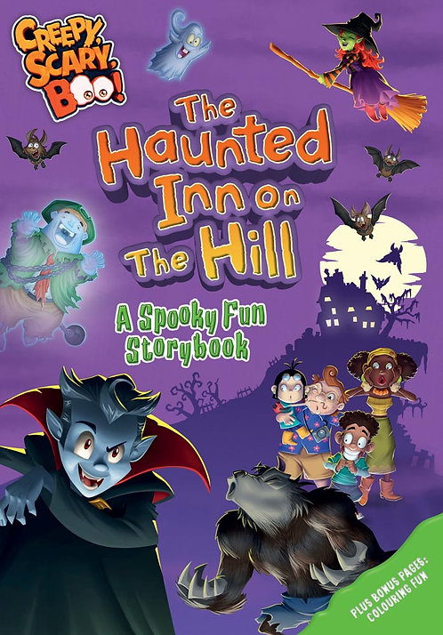 The Haunted Inn on the Hill, A Spooky Fun Storybook