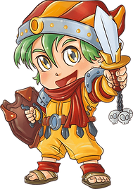 Binz is a pint-sized hero in Chibi Island, where great adventures come in small sizes.