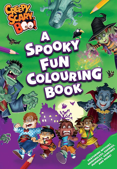 A Spooky Fun Colouring Book
