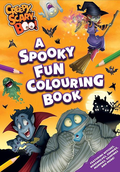 A Spooky Fun Colouring Book