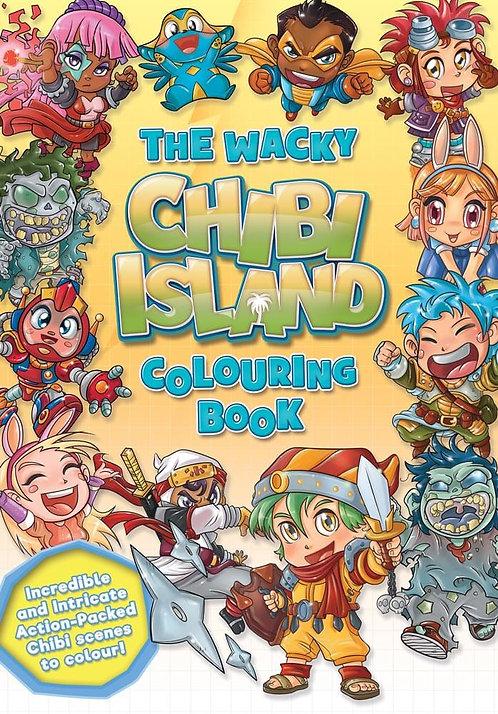 The Wacky Chibi Island Colouring Book