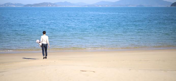 そろ旅から徒歩30秒の海