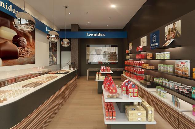 Leonidas - Concept store