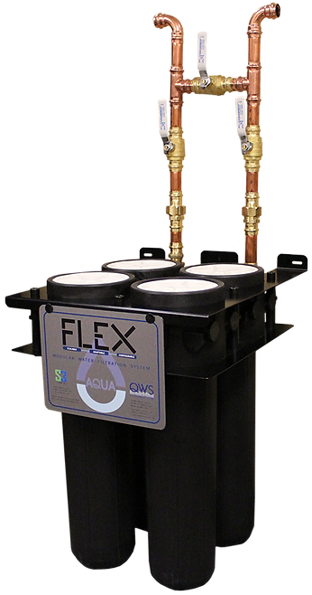 Flex 4 Whole House Water Filtration System