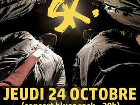 # Jeudi 24 Octobre 2019, concert du groupe Smoking Kills ! # - Riva Café - 24/10/2019