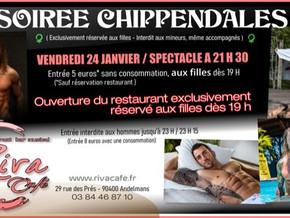 # Soirée Chippendales # - Riva Café - 24/01/2020