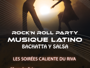 # Jeudi 19 Décembre 2019, soirée Rock 'N' Roll - Latino ! # - Riva Café - 19/12/2019