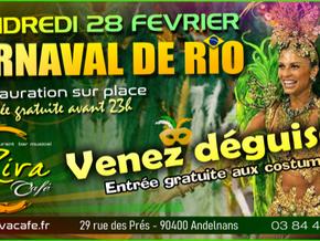 # Carnaval de Rio au Riva Café ! # - Riva Café - 28/02/2020
