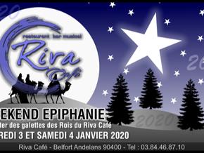 # Week-end Épiphanie les 3 et 4 Janvier ! # - Riva Café - 03/01/2020