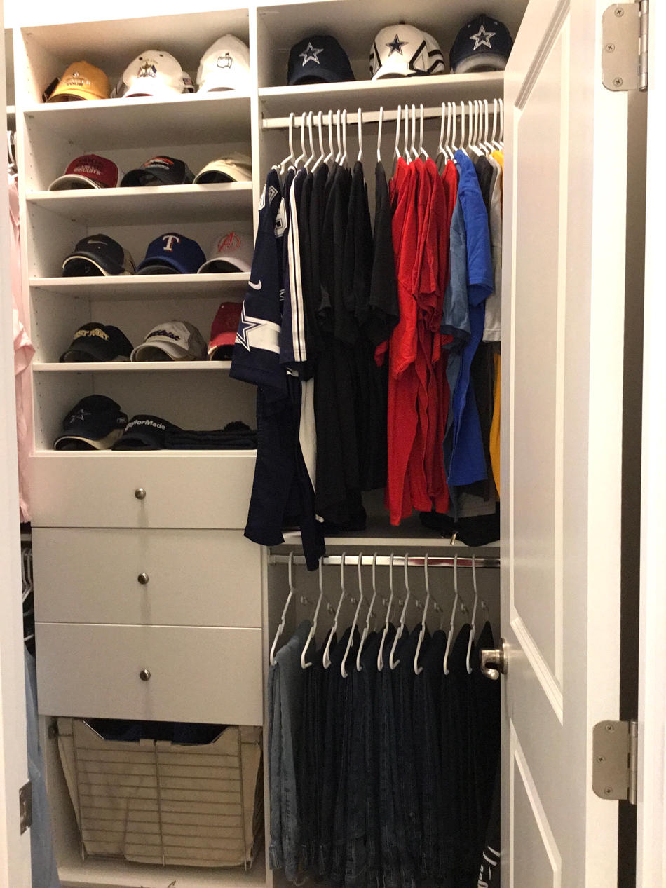 His & Hers Closet Organization & Design