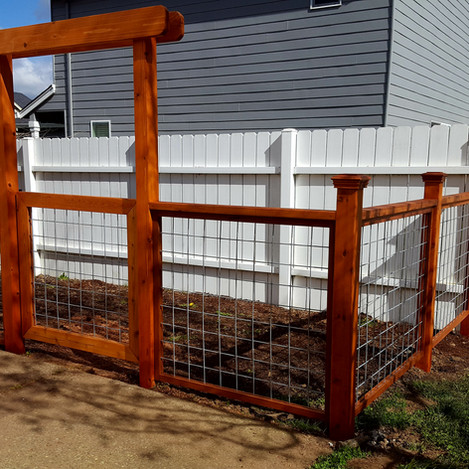 Perfect garden fencing