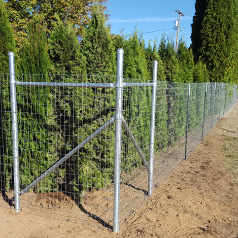 Farm field fence for goats horses dogs kids