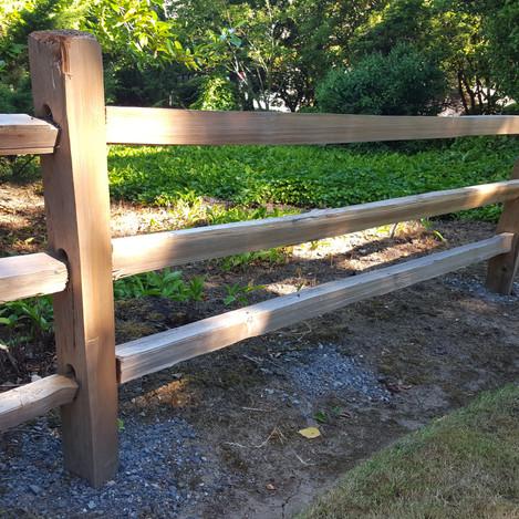split rail cedar