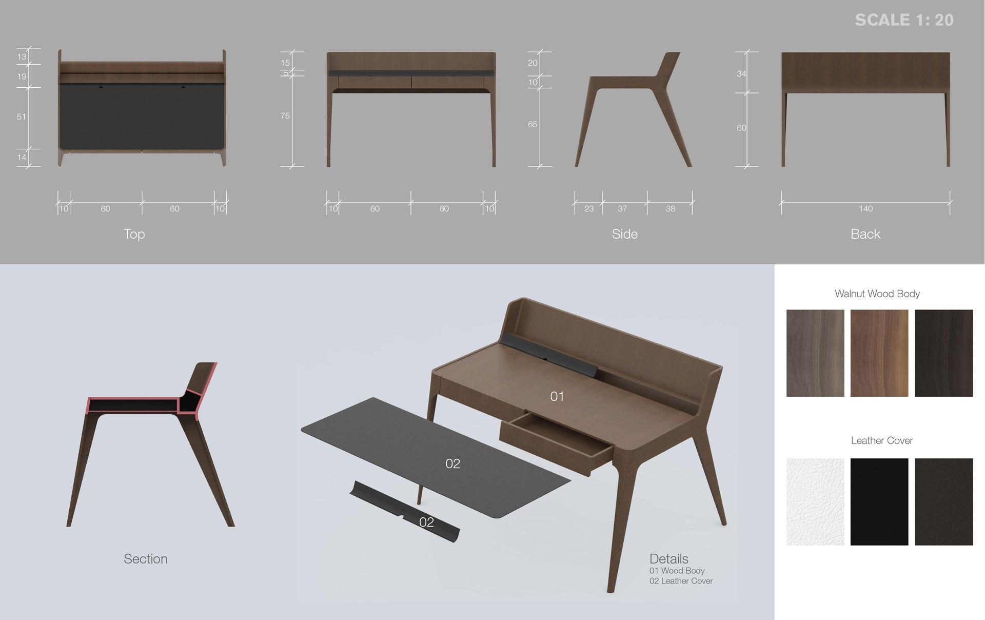 H Desk 07