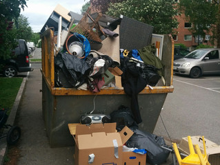 Slutt på avfallscontainere