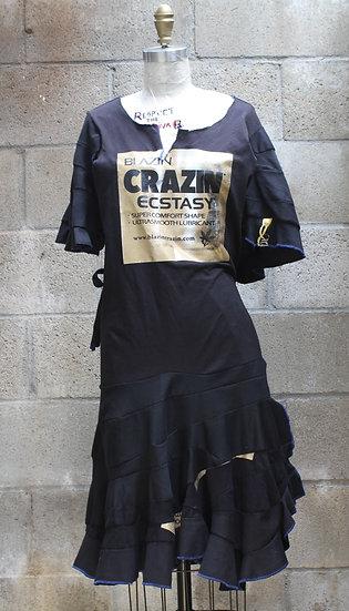 BLAZIN' CRAZIN' T-Shirt Dress