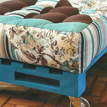 Módulo de futon para palet