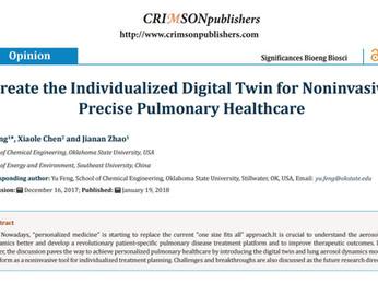 "Paper ""Create the individualized digital twin for noninvasive precise pulmonary healthcare&quot"