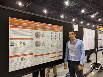 Ahmadreza presented a research poster at BMES 2017, Phoenix, AZ