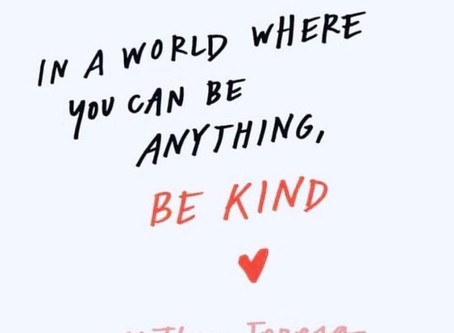 Kindness DOES matter - every day of the year