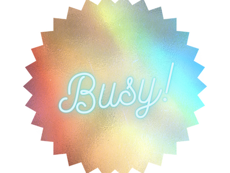 Beware the badge of busy