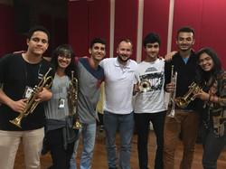 Masterclass at Conservatorio de Sao Paulo