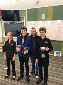 ABA Soloist winners Liam, Harry and Emily