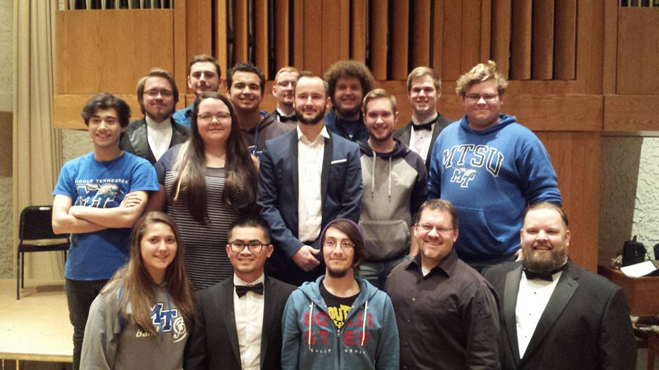 Masterclass at Middle Tennessee University