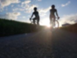 camino de santiago by road bike heart of