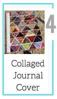 Collaged Journal [Summer Craft Challenge Materials]