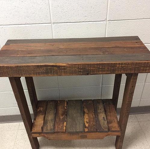 Rustic Entryway Table