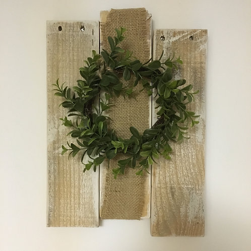 Welcome Home Pallet Wreath