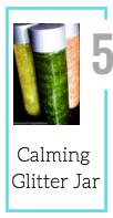 Calming GlitterJar [Summer Craft Challenge Materials]