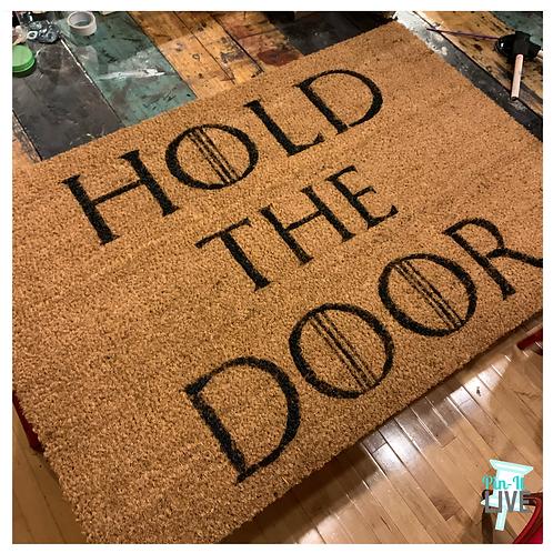 Doormat DIY!