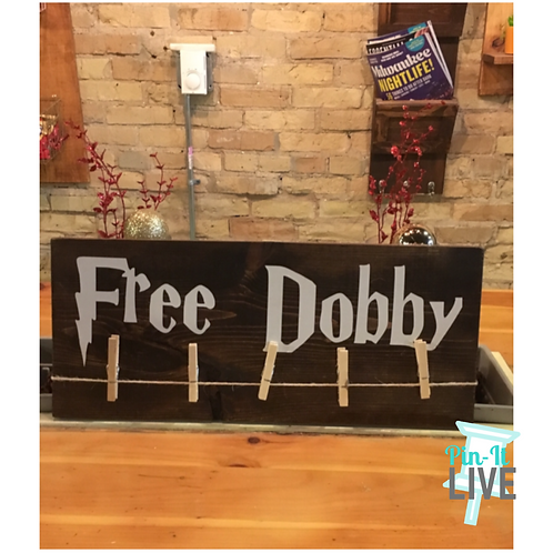 Free Doby Lost Sock Sign